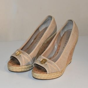 Ivanka Trump Wedge Heels - Size  5.5M